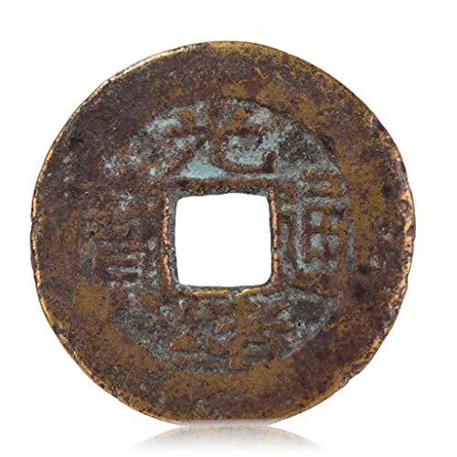 ZGZHIZ Alte chinesische alte Münzen, Qing-Dynastie antike Kupfermünzen, Bronzeplatten, Guangxu Tongbao - Baoyun Amulett bannen böse Geister Geld Reichtum Vermögen Zeichnung