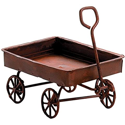 Darice Timeless Miniatures, Rusted Tin Wagon