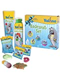 Valino - Badespaß-Set - (1 x Malseife / 2 x Badefarben / 2 x Knisterbad / 1 x Badeschaum)