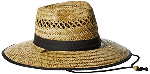 san-diego-hat-co-mens-upf-50-wide-brim-straw-lifeguard-outback-sun-natural-one-size