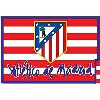 BANDERA OFICIAL ATLETICO DE MADRID - MODELO CLASICO 150X100CM fc1e0b05f71