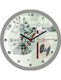 Star Wars - Reloj analógico de pared Halcón Milenario