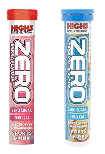 Tropische Beeren (High5 Zero Elektrolyt Sport Getränk Schlauch mit 20 tabletten - Kaufen Sie 1 = Eine Freie - 1 x beere + Tropische frei)