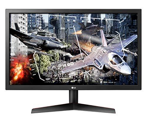 LG 24GL600F UltraGear Monitor Gaming 23.6'  Full HD LED, 1920 x 1080, 1ms, Radeon FreeSync 144Hz, 2x...