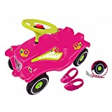 Flower Power Big Toy Factory 800056103Big Bobby Car with shoe Pads & Quiet pneumatici