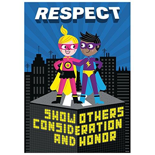 Poster Respect Superheld inspirieren U Poster (7279) (Superhelden-dekor)