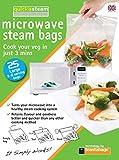 quickasteam micro-ondes cuisinière Sacs grande taille 25 paquet