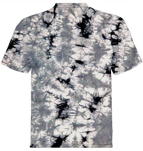 Tiermotiv T-Shirt Schlittenhunde Husky Grau Batik