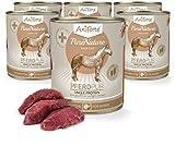 AniForte® PureNature EasyBarf Hundefutter- Naturprodukt für Hunde (Pferd Pur, 6x800g)