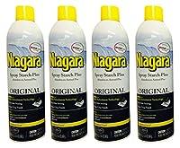 Niagara original, spray starch, crisp finish; sharp look, without excess stiffness 20-oz