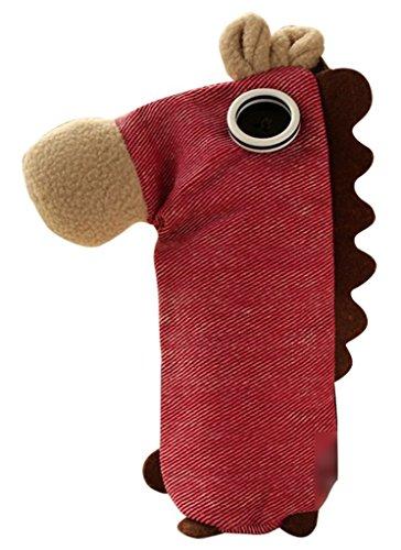 SAMGU Multifonctionnel Trousse de Stylos Sac Cosmétique avec Style Sacs poney