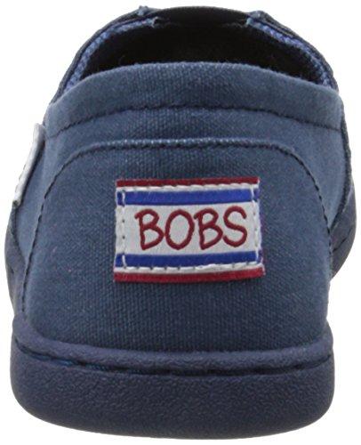 Bobs Da Skechers peluche Moda Slip-On piano Blu marino