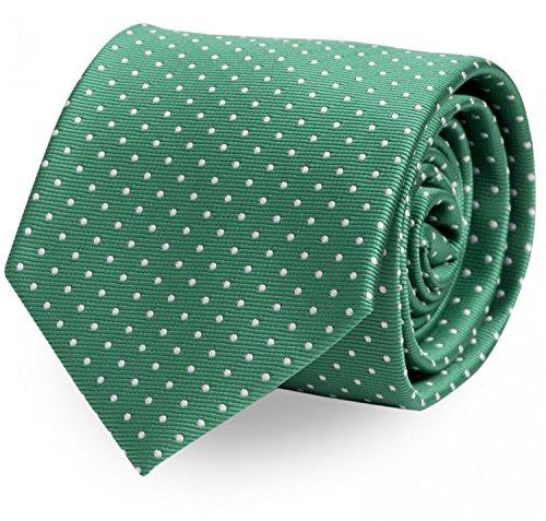 Estrecho Corbata de Fabio Farini en verde
