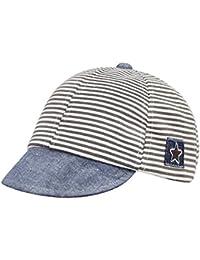 f398fd42acf Kids Baby Classic Stripe Hat Baseball Cap Toddler Infants Pure Cotton Hat  Adjustable Peaked Cap Sun