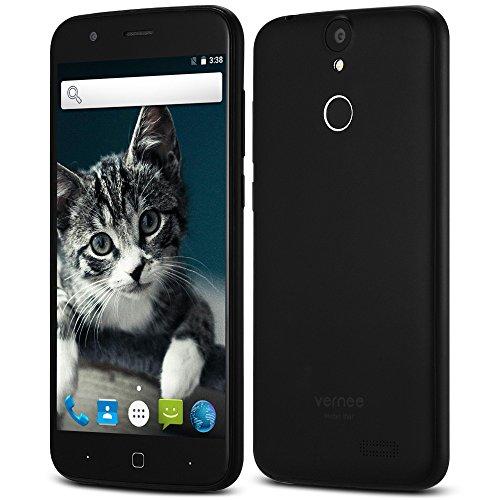 Prepaid Wireless Cell Phone (Vernee Thor 4G Smartphone 5.0 Zoll On-cell Corning Gorilla Glas 3 Bildschirm Android 7.0 MTK6753 64bit Okta-Kern 1.3GHz 3GB RAM 16GB ROM 13.0MP Hauptkamera Fingerabdruck GPS Bluetooth 4.0)