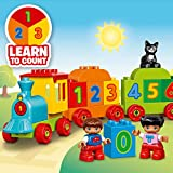 LEGO 10847 Duplo Award-Winning Number Train Toy with Number Bricks, Early Education for 1 .5 Year Old, Baby Toy