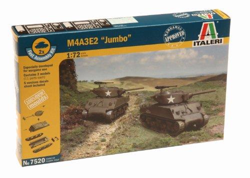 Italeri 510007520 - 1:72 M4A3E2 Jumbo, 2 Stück
