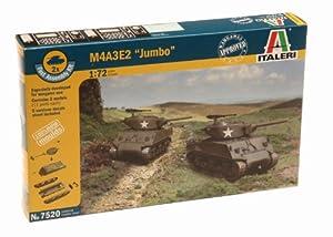 """Italeri 7520S M4A3 E2 """"Jumbo"""" - Maqueta de tanque (Escala 1:72)"""
