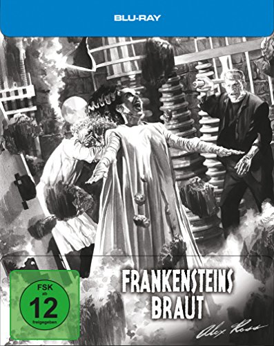 Frankensteins Braut- Steelbook designed by Alex Ross [Blu-ray] [Limited Edition]