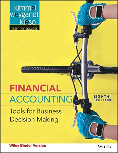 Financial Accounting, Binder Ready Version: Tools for Business Decision Making by Paul D. Kimmel (2016-09-06)