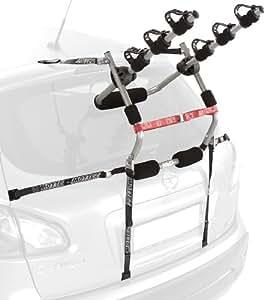 Mottez Porte-vélos à sangles 3 vélos Gris