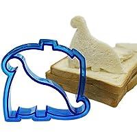 Qsoleil Regalo de Cocina DIY Forma de Dinosaurio Molde de Corte de Hechizo gráfico Molde de Bocadillo Molde de Pan