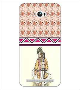PrintDhaba Funny Image D-3795 Back Case Cover for ASUS ZENFONE MAX ZC550KL (Multi-Coloured)