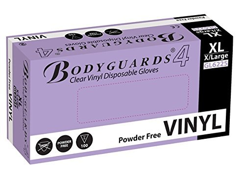 taglia-media-offerta-speciale-1000-bodyguards-usa-e-getta-in-vinile-senza-polvere-grado-medicale-glo
