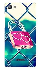 Micromax Canvas 5 E481 Back Case Cover by G.Store