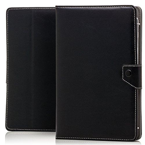Saxonia Tablettasche Case Universal Tablet Tasche für 9 bis 10 Zoll Schwarz