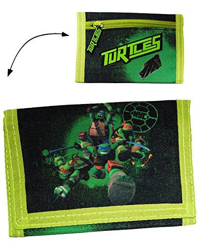 (Unbekannt Geldbörse  Teenage Mutant Ninja Turtles  - Geldbeutel & Portemonnaie für Kinder - Geld Buskarte Geldtasche / Jungen - Turtle Leonardo Donatello / Raphael - ..)