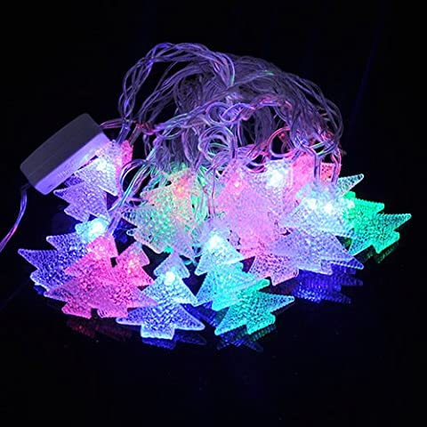 Il giorno di Capodanno Natale Decorazione lampada LED a 7 colori lampade stringa ,RGB