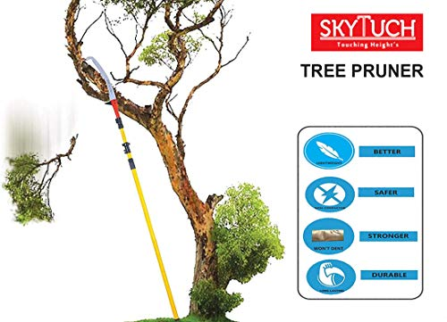 FESTEL - Skytuch frp 5.5 m/18.04 ft Telescopic Pole With Tree Pruning Saw