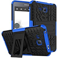 "Carcasa Transparent Tablet Samsung Galaxy Tab A6 7.0""(SM-T280/285), KATUMO® Funda Silicona para Samsung Tab A6 7.0"" Cubierta Carcasa Goma Case Cover Funda Protectora Estuche Caso-Azul"
