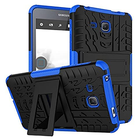 "Pochette Tablette Samsung Galaxy Tab A 7.0"" 2016(T280/285N), KATUMO® Coque de Gel Galaxy Tab A 7.0"" Etui Housse de Protection pour Samsung Galaxy Tab A 7.0"" 2016(SM-T280/SM-285N) Etui Housse Cover Case-Bleu"