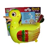 #10: ADITYA INFO™ CUTE DUCK BATTERY OPERATED WHICH LAY AN EGGS WITH LIGHT & SOUND