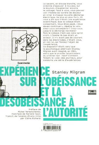Expérience sur l'obéissance et de la désobéissance à l'autorité par Stanley Milgram