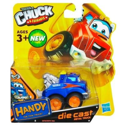 Tonka Chuck & Friends ~ Handy The Tow Truck ~ Die Cast Metal Truck - Diecast Tow Truck