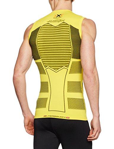 X-Bionic Herren Lamborghini Running Sleeveless Men Oberbekleidung Gelb