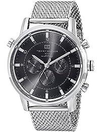 Tommy Hilfiger Herren-Armbanduhr Chronograph Quarz Edelstahl 1790877