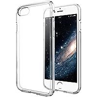 iPhone 8 / 7 Hülle - vau Hybrid Case Schutzhülle transparent - stabile Rückseite und flexibler Rahmen mit Airbagfunktion