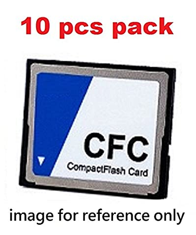 Industrial grade CF card, p-SLC, 8GB, extended wide temperature, 10pcs (8 Extended Range)