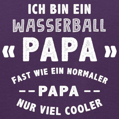 Ich bin ein Wasserball Papa - Herren T-Shirt - 13 Farben Lila