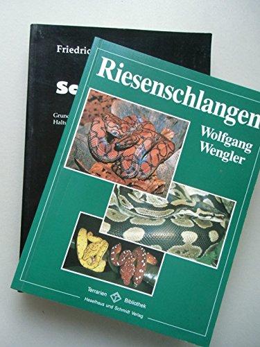 2 Bücher Riesenschlagen + Schlangen Grundlagen erfolgreicher Haltung Zucht