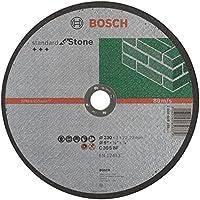 Bosch 2 608 603 180 - Disco de corte recto Standard for Stone - C 30 S BF, 230 mm, 22,23 mm, 3,0 mm (pack de 1)