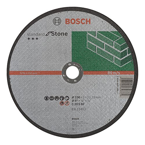 Bosch Professional Trennscheibe flach Standard For Stone C 30S BF 22,23mm 3,0mm, grau, 2608603180