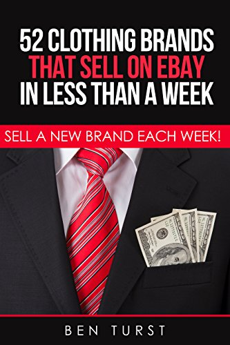 52 Clothing Brands That Sell on Ebay in Less Than a Week: Sell a New Brand Each Week (Selling Clothes on eBay Book 1) (English Edition)