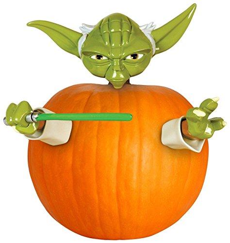 Star Wars Yoda Pumkin Push ins für Kürbis Dekoration Halloween