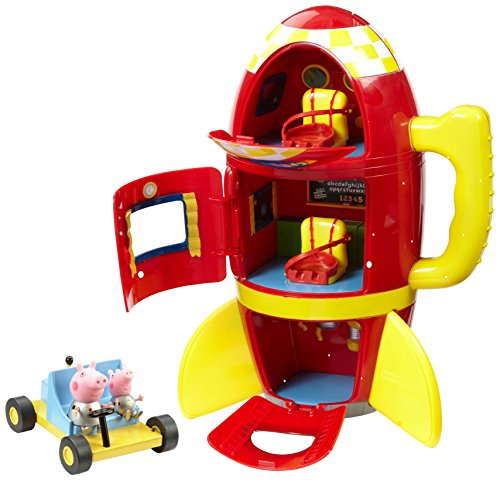 Peppa Pig Spaceship Adventure Playset con Moon Buggy
