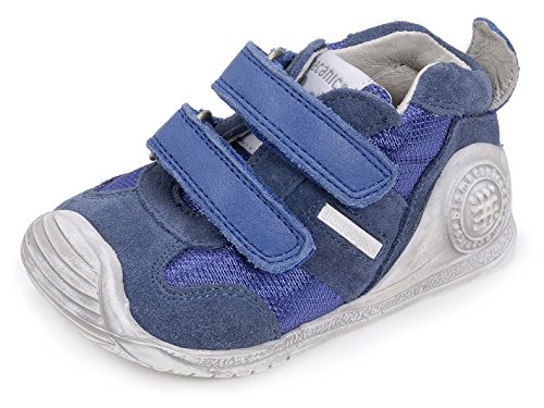 Biomecanics Unisex Baby 162149 Lauflernschuhe Blau (Azul)